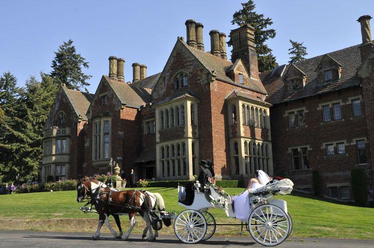 Thornewood Castle - Seattle Fairytale Wedding Photos
