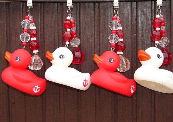 Table cloth weights sailor rubber duck by sprinkleandsparkle 25 00