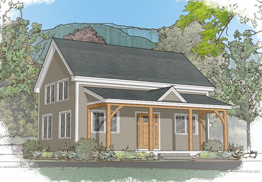 Small Timber Frame Home House Plans Car Tuning