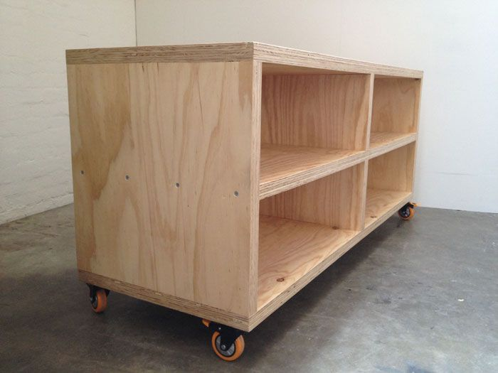 Simple plywood tv unit office ideas pinterest for Plywood cupboard