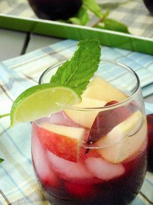 Ginger-Plum Sangria | Recipes | Pinterest