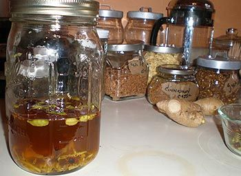 Homemade bitters