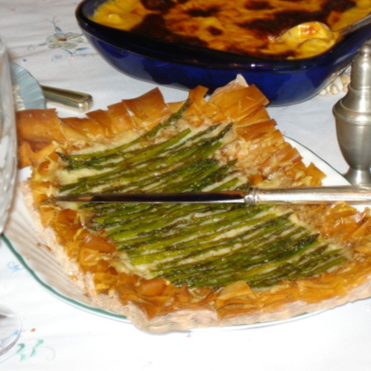 Asparagus Gruyere Tart | Food Items I Like | Pinterest