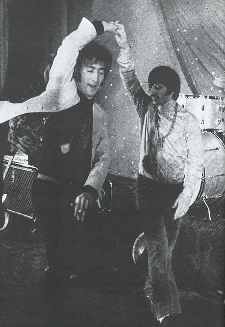 john and ringo | disco dancing | the beatles | dance | www.republicofyou.com.au