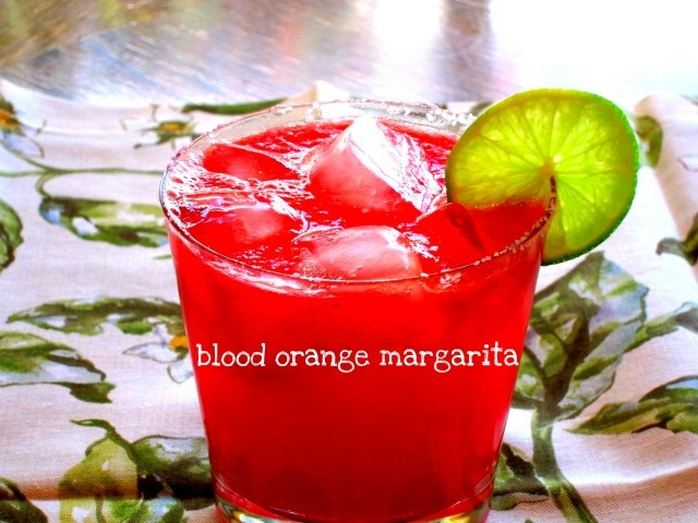 Blood orange margarita! | Yummy | Pinterest