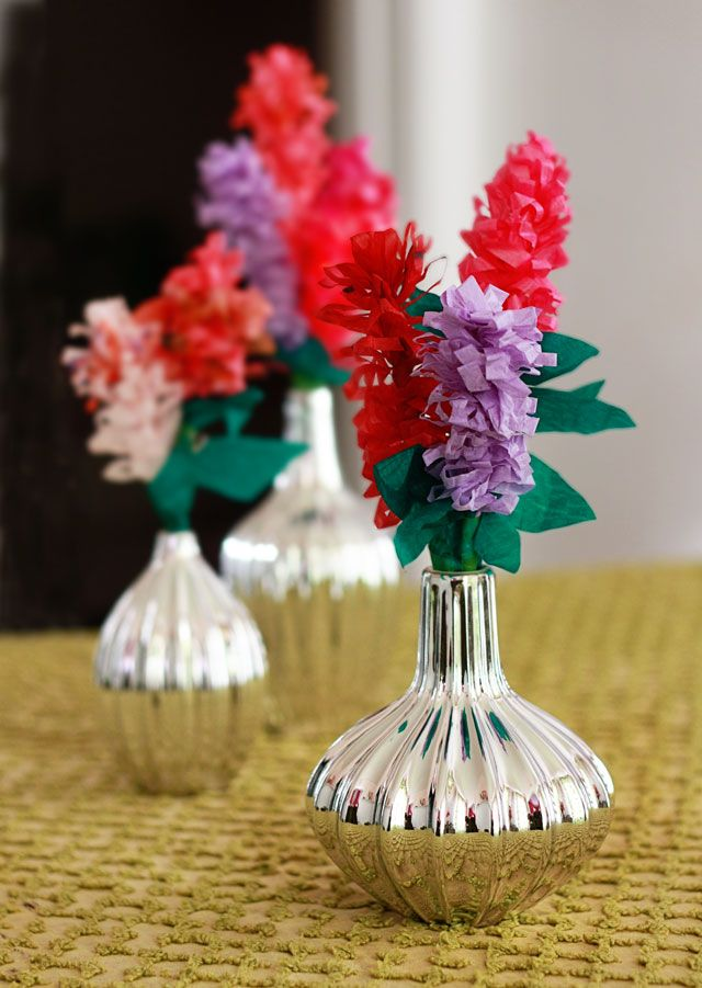Aunt Peaches: Friday Flower: The Paper Hyacinth