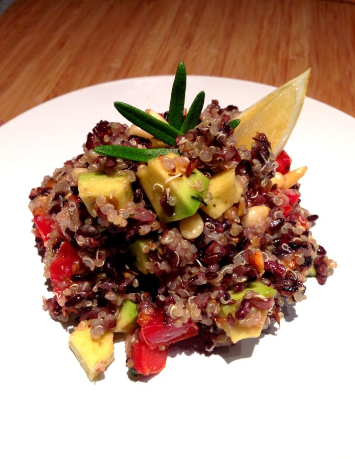 How to Cook Cumin-Scented Black Rice & Quinoa Salad | Recipe