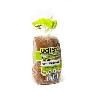 Udi's Gluten Free Whole Grain Bread (1 Case)