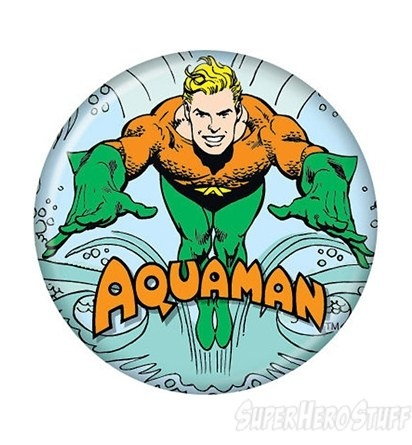 Aquaman swimming button