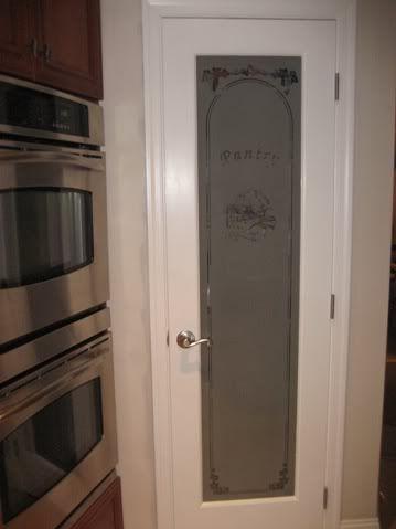glass pantry door future home pinterest