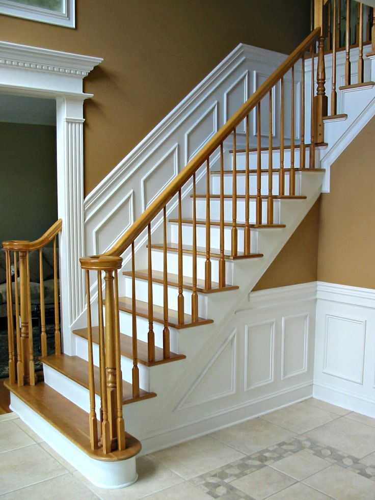 Foyer With Chair Rail : Chair rail shadowbox wainscoting foyer for the home