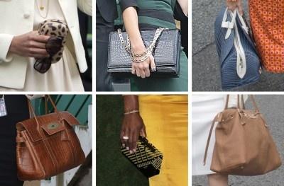 The Fabulous Handbags of Wimbledon's Celebrity Spectators