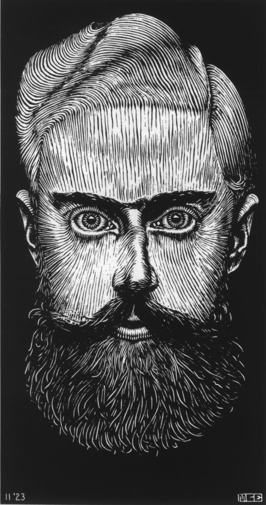 Autorretrato de Escher