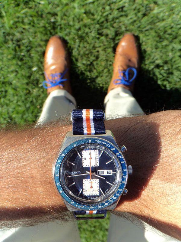 Vintage Seiko Watch And Shoes seiko Men Style Great Design Pr
