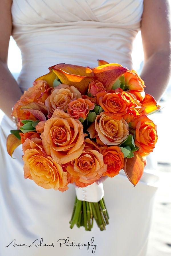 Orange Mix Flower Bouquet