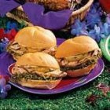 Luau Chicken Sandwiches | Food | Pinterest