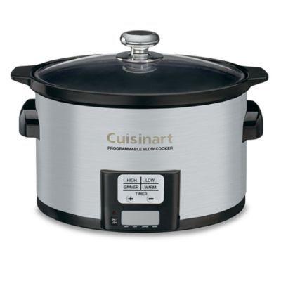 Cuisinart® 3.5 Quart Programmable Slow Cooker  BedBathandBeyond.com