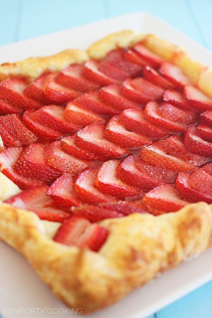 ... Ingredient Strawberry Tart with Lemon Whipped Cream @Georgia Johnson