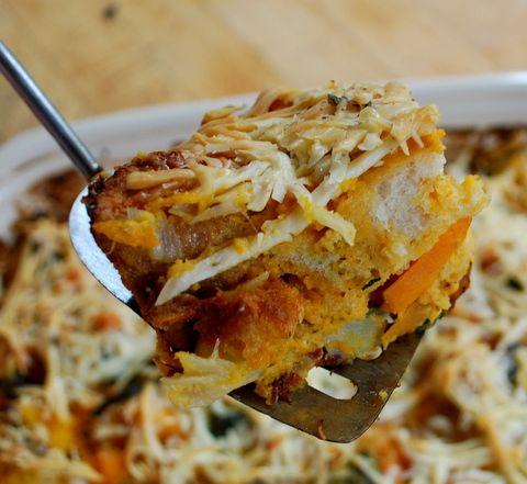 rustic butternut squash bread pudding | Yum! | Pinterest