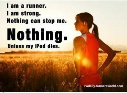 lmao!  This is so me! #running