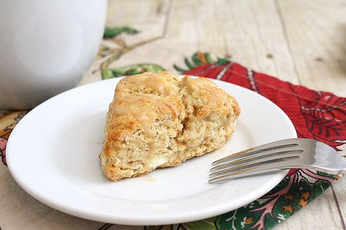 ... Adventures: Maple Syrup Breakfast Scones with Cappuccino Glaze