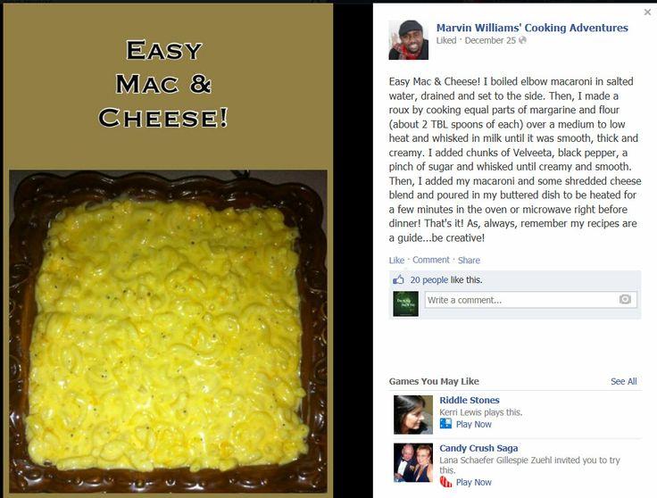 Easy Mac n Cheese | Soul Food/Asian Recipes | Pinterest