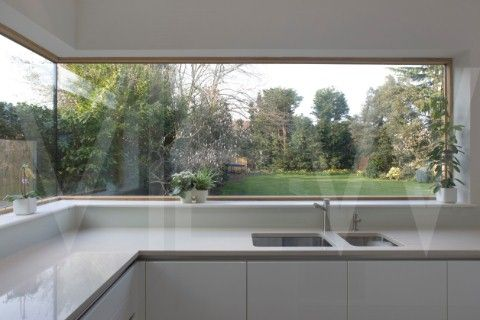 private house corner window above sink k k pinterest