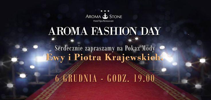 Aroma Fashion Day with Krajewscy - pokaz mody duetu Ewy i Piotra Krajewskich