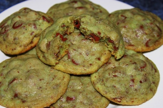 Mint Chocolate Chip Cookies | Recipes from my Blog - Alice in the Kit ...