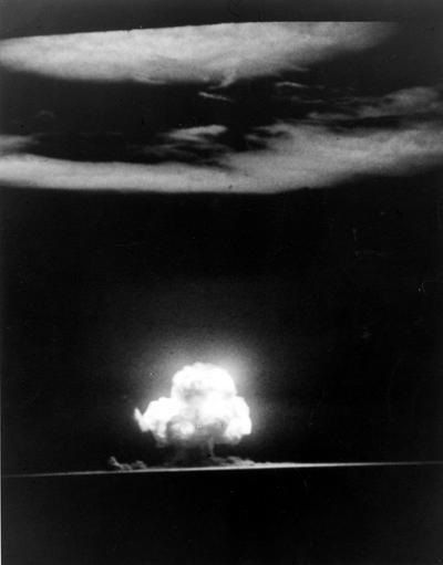 Trinity blast july 16 1945 hidden holloman pinterest