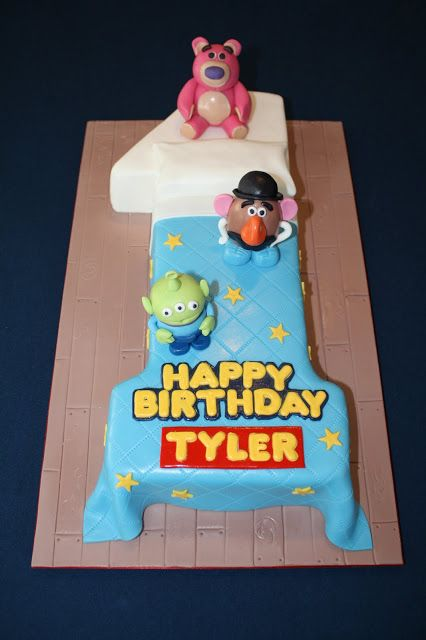 No 1 Toy Story Cake