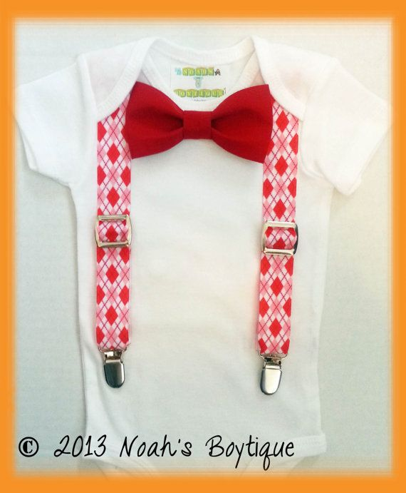 newborn boy valentines day outfit