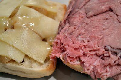 Roasted Garlic and Horseradish Cream Roast Beef Sandwiches - Savory ...