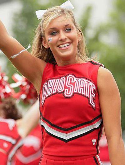 cute OSU cheerleader