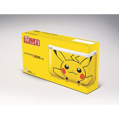 limited edition pikachu nintendo 3ds xl take my money. Black Bedroom Furniture Sets. Home Design Ideas