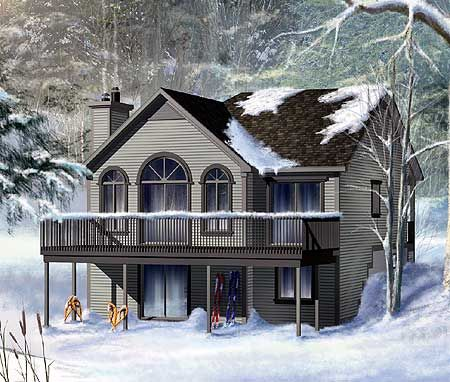Cozy cottage house plan for Cozy cottage home designs
