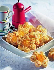 Hafer-Schmand-Plätzchen Sour Cream Oatmeal Cookies with Apricot