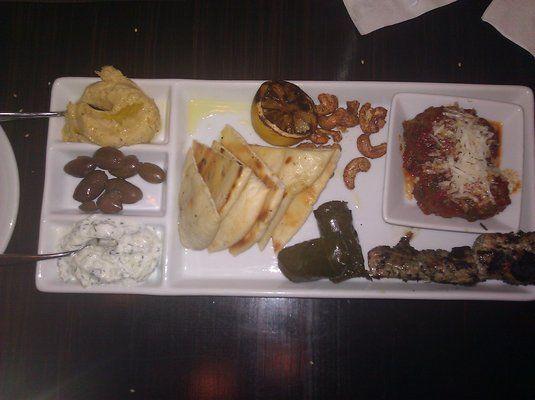 ... Gulf Prawns, Greek Lamb Meatballs in sauce, or Pork Souvlaki 2011