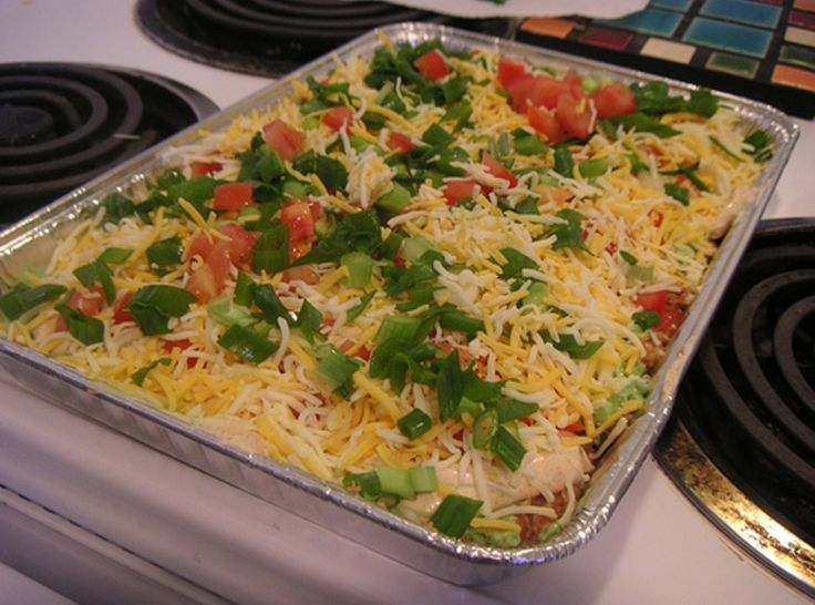 layer bean dip...I want bean dip and nachos. Reminds me of a late ...