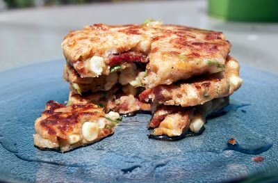 Corn Bacon Griddle Cakes | Savory | Pinterest