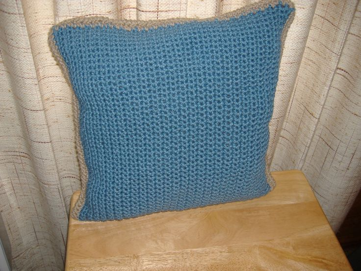 Free Pattern For Easy Crocheted Pillow