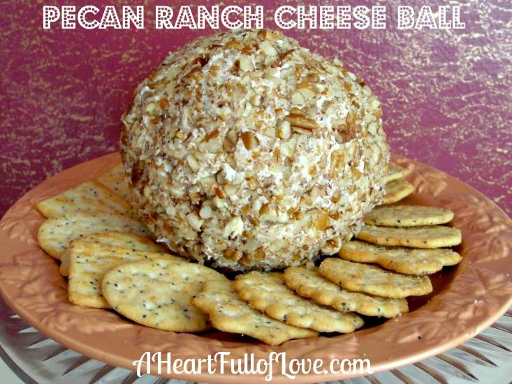 Ranch Cheese Ball Recipe. With just 4 ingredients, this cheese ball ...