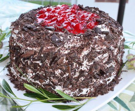 Black Forest Cherry Torte, | cupcakes/cake/cake balls | Pinterest