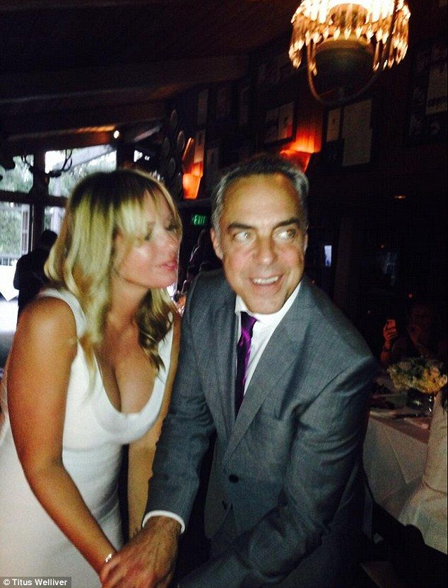 The good wife star titus welliver marries his love jose for Titus welliver tattoos