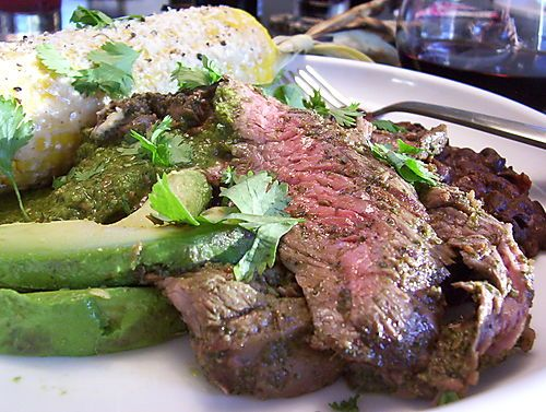 JALAPENO, CILANTRO, CUMIN & LIME MARINATED SKIRT STEAK - (Grill or ...