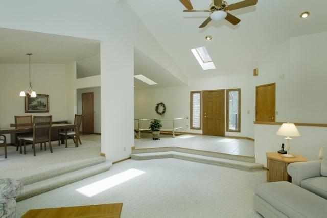 Sunken Living Room Home Pinterest