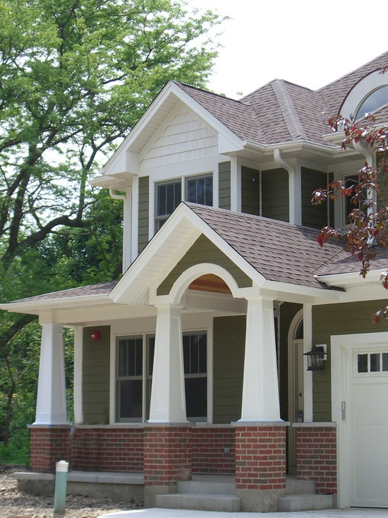 Brick and siding combo exterior for new house pinterest for Change exterior of house