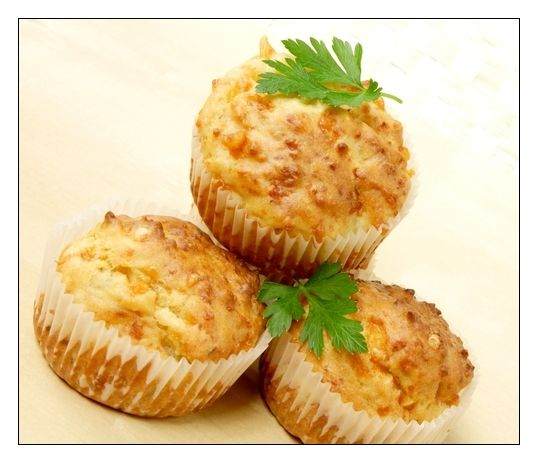 Easy Cheesy Muffins - base to savoury muffins.