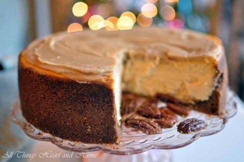 ... like this: pumpkin cheesecake , gluten free pumpkin and cheesecake