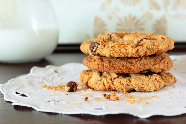 Whole Wheat Chocolate Chip Cookies. I want to try to incorporate more ...
